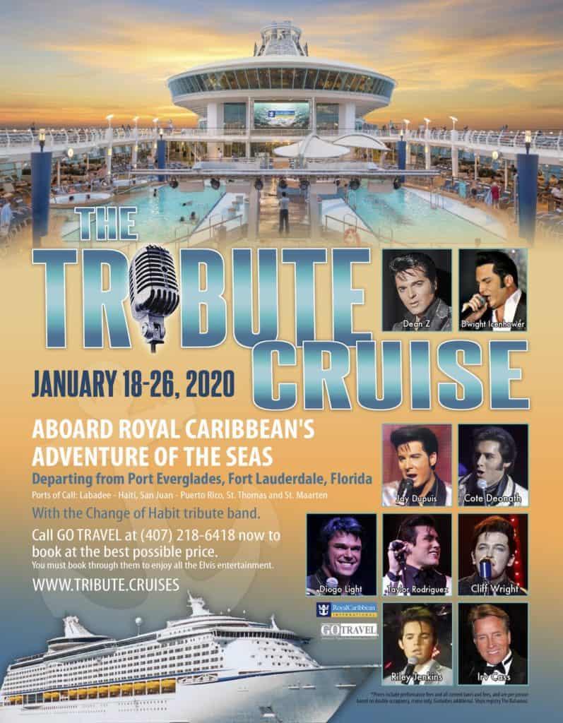 Port Everglades Cruise Schedule 2020.The Tribute Cruise Tributefestival Rocks